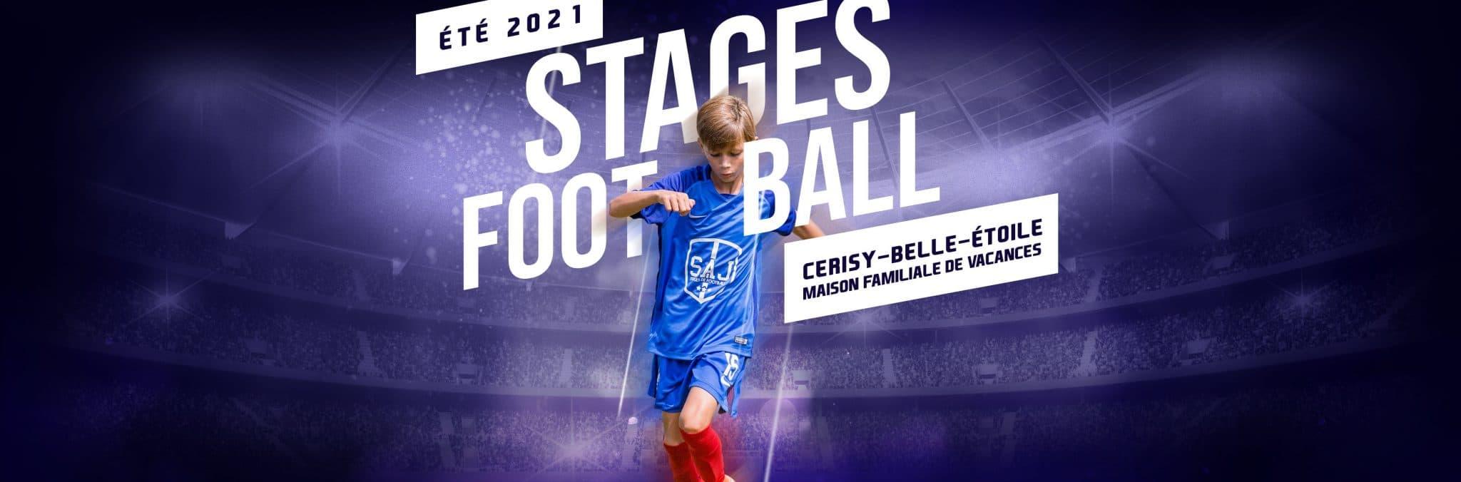 Stages football été 2021
