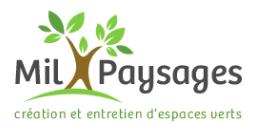 CDI Ouvrier.e paysagiste et (H/F) , Mil paysages (Valorbiquet – St cyr du Ronceray)